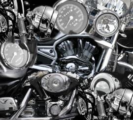 No Limits Fotobehang Motor parts 30120
