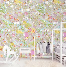Behangexpresse Kay & Liv Wallprint Secret Garden INK 7020