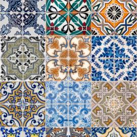 Esta Home Cabana Wallpaper XXL Spaanse tegels 158603