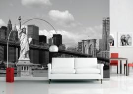 AG Design Fotobehang Vrijheidsbeeld FTS1300
