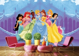 AG Design Fotobehang Disney Princess In The Castle FTD0264