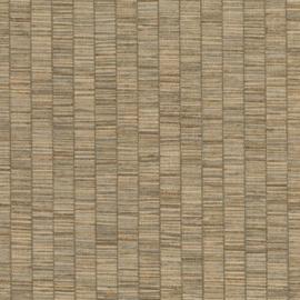 Hookedonwalls Lemuria behang Unito Ribbon Grass 60654