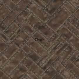 Origin Matières-Metal behang 337239