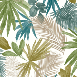 Dutch Wallcoverings Jungle Fever behang Wild Palms JF3602