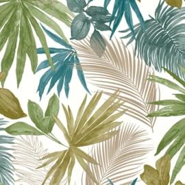 Dutch Wallcoverings Jungle Fever behang Wild Palms JF3602