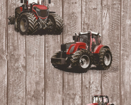 AS Creation Little Stars Tractor behang 35840-1