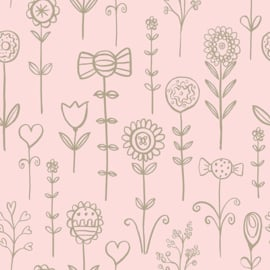 Behangexpresse Morris & Mila behang Candy Florals 27192