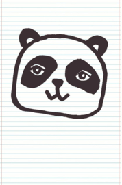 Eijffinger Wallpower Junior 364104 Panda Notebook