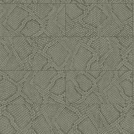 Origin Luxury Skins behang Tegels met Slangenprint 347785