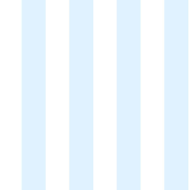 Noordwand Kids@Home Inidvidual behang Pastel Blue Stripe 100097