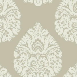 York Wallcoverings Ronald Redding 24 Karat behang Teardrop Damask KT2142