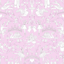 York Wallcoverings A Perfect World behang KI 0502 Ballet Toile