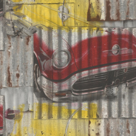 Rasch Kids & Teens III behang Auto's 212419