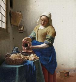 Dutch Wallcoverings Painted Memories Mural The Milk Girl 8011
