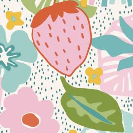 BN Doodleedo behang Strawberry Fields 220771