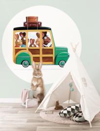 KEK Amsterdam Kids behangcirkel Rabbits CK-023