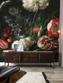 KEK Amsterdam Flora & Fauna behang Golden Age Flowers WP-200