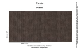 Élitis Pleats behang Arts & Craft TP 18007