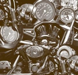 No Limits Fotobehang Motor parts 30121