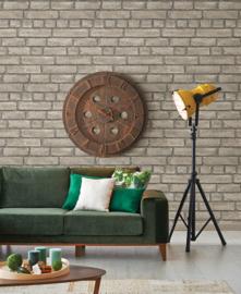 Dutch Restored Brick Façade behang 24052