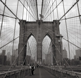 No Limits Fotobehang Brooklyn bridge 30318