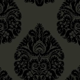 York Wallcoverings Ronald Redding 24 Karat behang Teardrop Damask KT2144