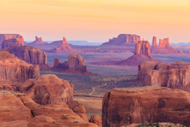 Papermoon Fotobehang Hunts Mesa Sunrise 97068