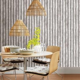 Dutch Reclaimed behang FD22336 Corrugated Metal Rust