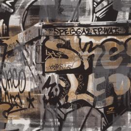 Rasch Kids & Teens II Graffiti behang 291551