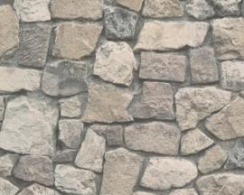 AS Creation Dekora Natur behang 8595-32 Steen