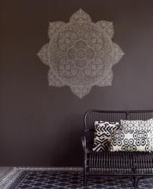 Eijffinger Lounge Wallpower 388901 Mandala Black