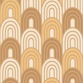 Hookedonwalls Bohème behang Art Deco BO23050