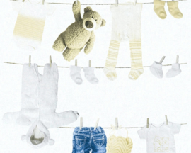 AS Creation Little Stars Waslijn behang 35844-1