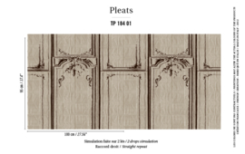 Élitis Pleats behang La Belle et la Bête TP 18401