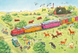 XXL Wallpaper Train 0351-5