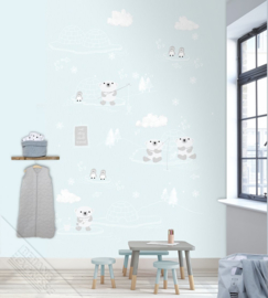 Behangexpresse Kay & Liv Wallprint Arctic INK 7037