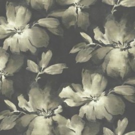 York Wallcoverings Candice Olson Tranquil behang Midnight Blooms SO2471