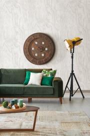 Dutch Restored Plywood behang 24039
