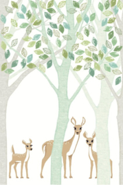 Eijffinger Wallpower Junior 364130 Deer, Leaf, Tree