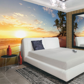 Noordwand Global Fusion Mural G45273 Tropical Sunset