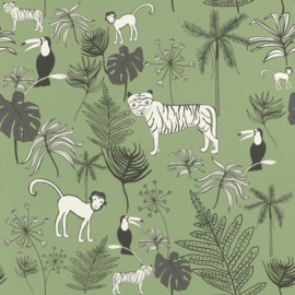 Rasch Bambino XVIII by studio Claas behang Jungle 531817