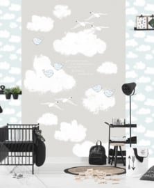 Behangexpresse Kay & Liv Wallprint Sweet Clouds INK 7023