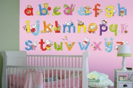 Sweet Collection by Monica Maas | Alphabet Pink 5004A