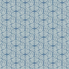 York Wallcoverings Handpainted Traditionals behang Fern Tile TL1942