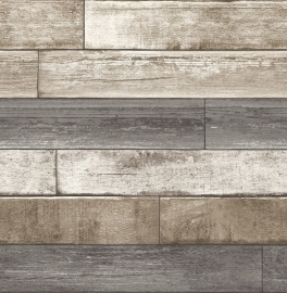 Dutch Reclaimed behang FD22345 Weathered Plank