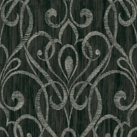 Dutch First Class Black & White behang 1301800