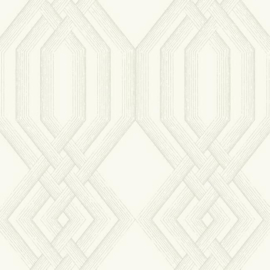 York Wallcoverings Handpainted Traditionals behang Etched Lattice TL1910