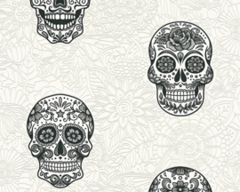 AS Creation Boys and Girls 6 behang Skulls 35817-1
