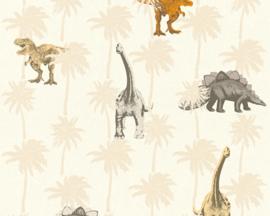AS Creation Little Stars Dino behang 35835-1