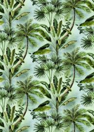 Hookedonwalls Blooming behangpaneel Secret Garden BLD22783